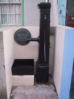 Picture of the pump fully refurbished and reinstalled